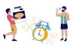 プロテインを飲むタイミング、いつが効果的?ゴールドジムトレーナーが回答