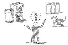 「オーツミルク」とは。牛乳や豆乳との違い、メリット・デメリット|マッスルデリ管理栄養士が解説