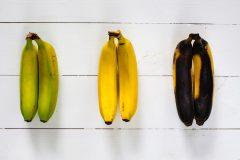 便秘解消に効果的なのは「青めバナナ」。バナナの熟成度と栄養素